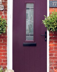 purple composite doors bristol