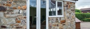 white upvc french doors Bristol