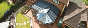 LivinRoof conservatory top down view