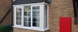 uPVC bay windows in white bristol