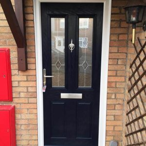 black composite door bristol