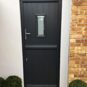black composite stable door bristol