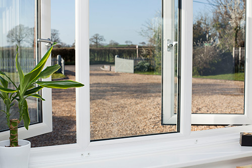 White Casement Window Bristol