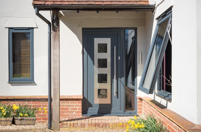aluminium front door prices filton